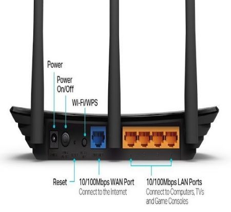TL-WR940N 300Mbps Advanced Wireless N Router with 3 Fixed Antennas