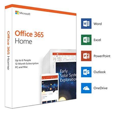 Microsoft Office 365 Home English Subscription 1YR