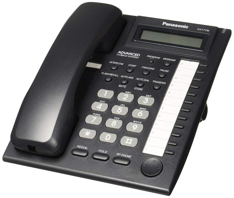 Panasonic KX-T7730 analogue proprietary phone